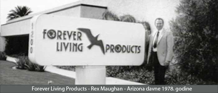 Forever Living Products Slikau Arizoni 1978 godine Aloe Vera TM