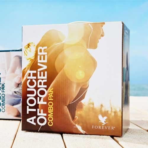 Touch Of Forever Combo Pack paket proizvoda kompanije Forever Living