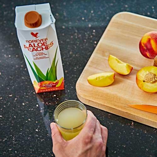 Forever Aloe Bits N' Peaches napitak kompanije Forever Living